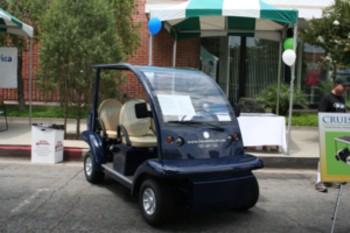 NEVs Gem Golf Cart Prises on