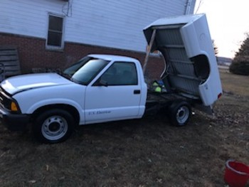 classifieds  us electricar 1994 s10 this is a factory conversion done by us electricar i purchased the truck for an experiment that i wanted to do
